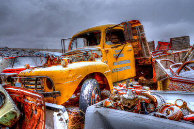 Photograph - Yellow Truck by Craig Incardone