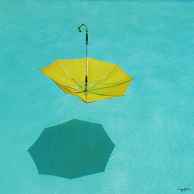 Photograph - Yellow Umbrella by Craig Gum