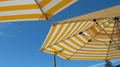 Photograph - Yellow Umbrella by Emma Frost