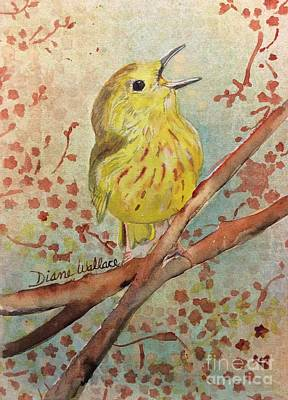 Yellow Warbler Original