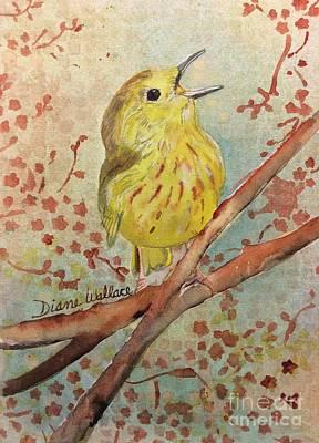Yellow Warbler Original