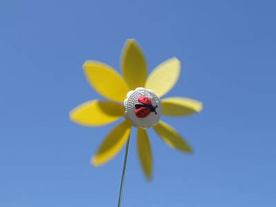 Photograph - Yellow Windmill by Helen Northcott