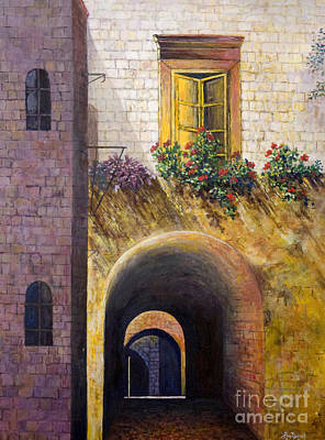 Painting - Yellow Window by Lou Ann Bagnall