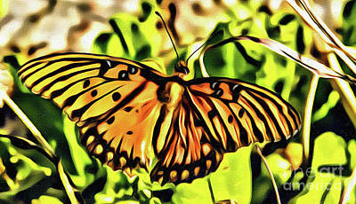 Photograph - Yellow Wings by Steven Parker