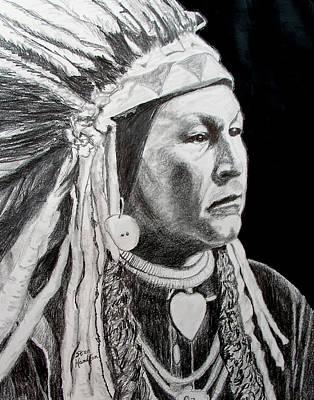 Yellow Wolf Art Print by Stan Hamilton