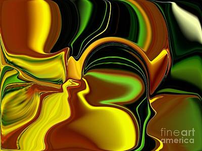 Digital Art - Yellowfied by Greg Moores