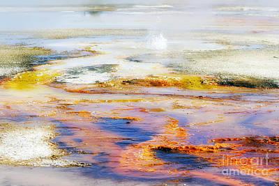 Yellowstone Abstract II Art Print by Teresa Zieba