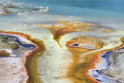 Photograph - Yellowstone Abstract IIi by Teresa Zieba