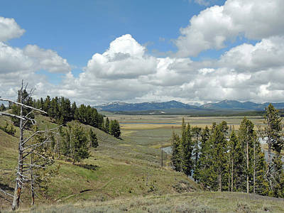 Photograph - Yellowstone Caldera by Jayne Wilson