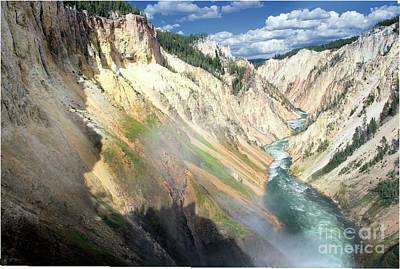 Photograph - Yellowstone Canyon by Darleen Stry