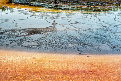 Photograph - Yellowstone Colors #9 by Scott Read