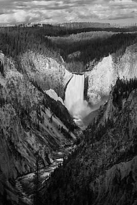 Photograph - Yellowstone Falls II by Jon Glaser