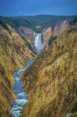 Photograph - Yellowstone Falls by Scott McGuire
