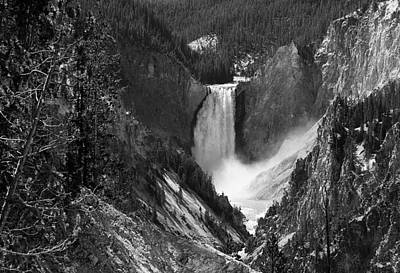 Photograph - Yellowstone Grand Canyon Waterfall by Ginger Wakem