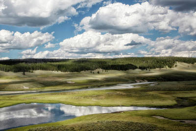 Photograph - Yellowstone Hayden Valley National Park Wall Decor by Gigi Ebert