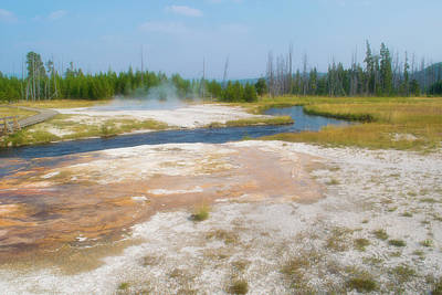 Photograph - Yellowstone Hot Springs 2 by Bonnie Bruno