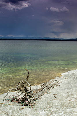 Photograph - Yellowstone Lake by Dawn Romine