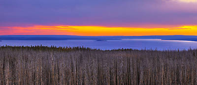 Photograph - Yellowstone Lake by Kadek Susanto