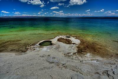Yellowstone Lake Art Print