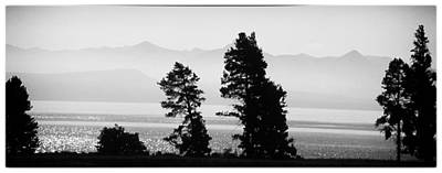 Photograph - Yellowstone Lake by Steve Archbold