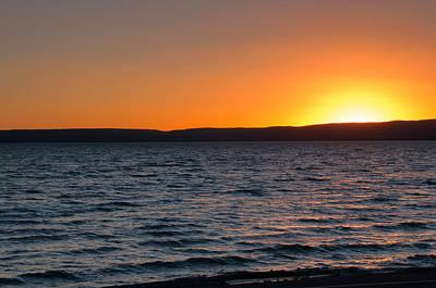 Photograph - Yellowstone Lake by Steve Stuller
