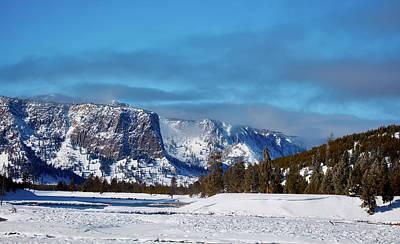 Photograph - Yellowstone Mountain Vista by L O C