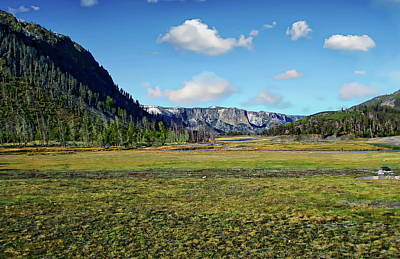 Photograph - Yellowstone National Park by Anthony Dezenzio