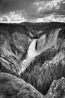 Photograph - Yellowstone National Park by Maria Coulson