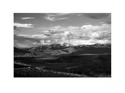 Yellowstone National Park Scenic Art Print by Greg Kopriva