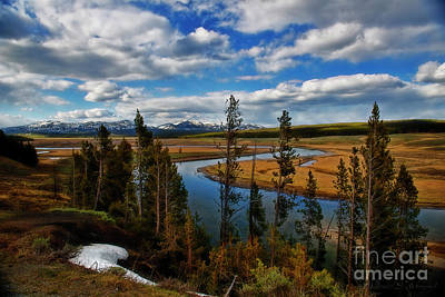 Photograph - Yellowstone River At Dusk by David Arment