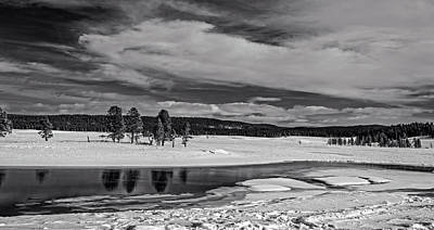 Photograph - Yellowstone River by L O C