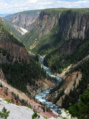 Photograph - Yellowstone River by Laurel Powell