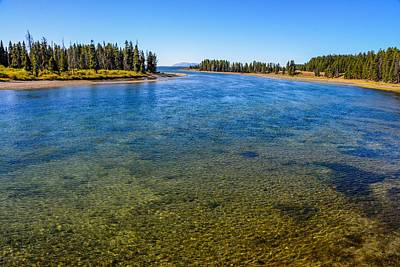 Photograph - Yellowstone River by Marilyn Burton