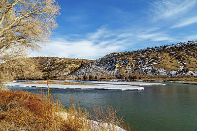 Photograph - Yellowstone River by Robert Caddy