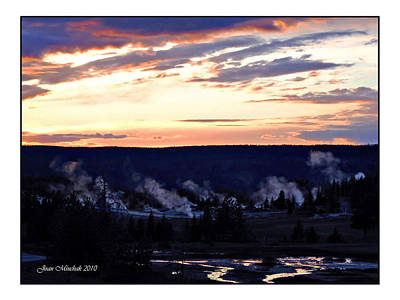 Photograph - Yellowstone Smoke Stacks by Joan  Minchak