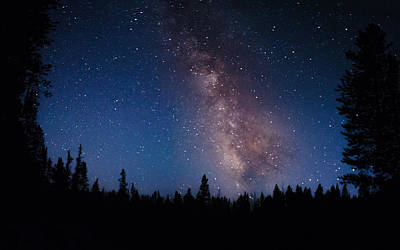 Photograph - Yellowstone Stars by Dakota Light Photography By Dakota