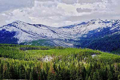 Beers On Tap - Yellowstone View by Ronald Watkins