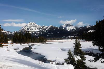 Absaroka Photograph - Yellowstone Vista by L O C