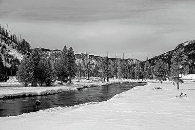 Photograph - Yellowstone's Madison River by L O C