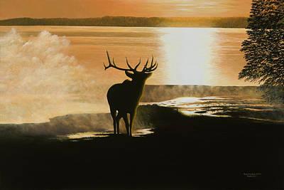Yellowstone's Monarch Art Print