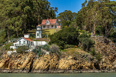 Photograph - Yerba Buena Lighthouse by Bill Gallagher