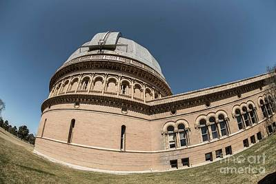 Photograph - Yerkes Observatory - 5 by David Bearden
