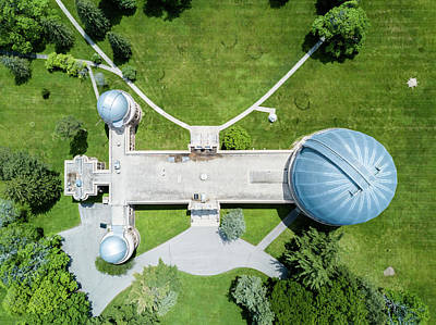 Photograph - Yerkes Observatory by Randy Scherkenbach
