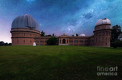 Photograph - Yerkes Observatory Williams Bay by Tom Jelen