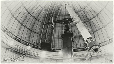 Photograph - Yerkes Refractor by John Meader