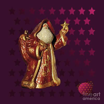 Longines Digital Art - Yes Santa Claus M1 by Johannes Murat