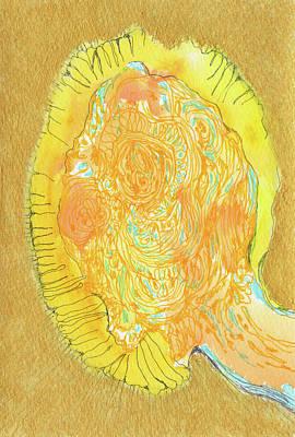 Yes - #ss16dw047 Art Print by Satomi Sugimoto
