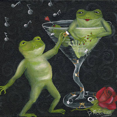 Propose Painting - Yes Toadally Yes by Debbie McCulley