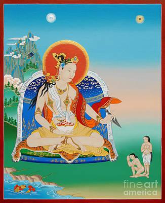 Yeshe Tsogyal Art Print