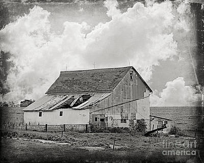 Photograph - Yesterday's Barn by Kathy M Krause